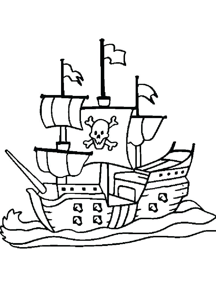 pirate ship coloring pages africaecommerceco