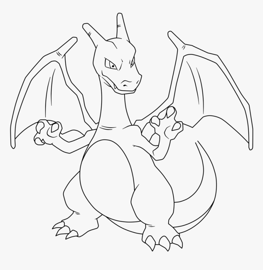 pokemon charizard coloring pages mega charizard para