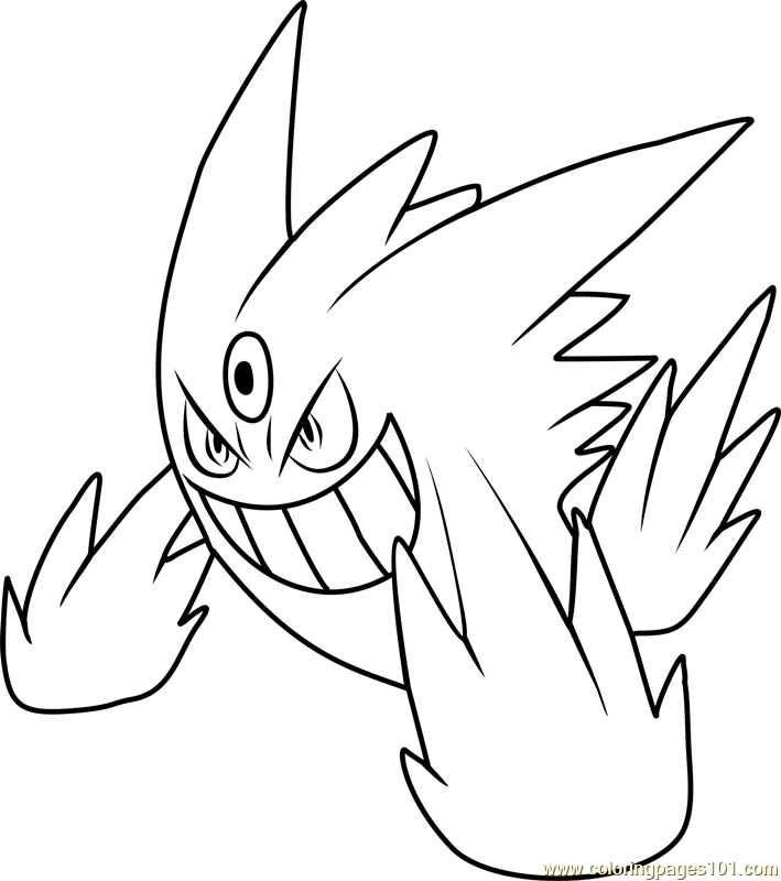 pokemon coloring pages ganggar collection fun for kids