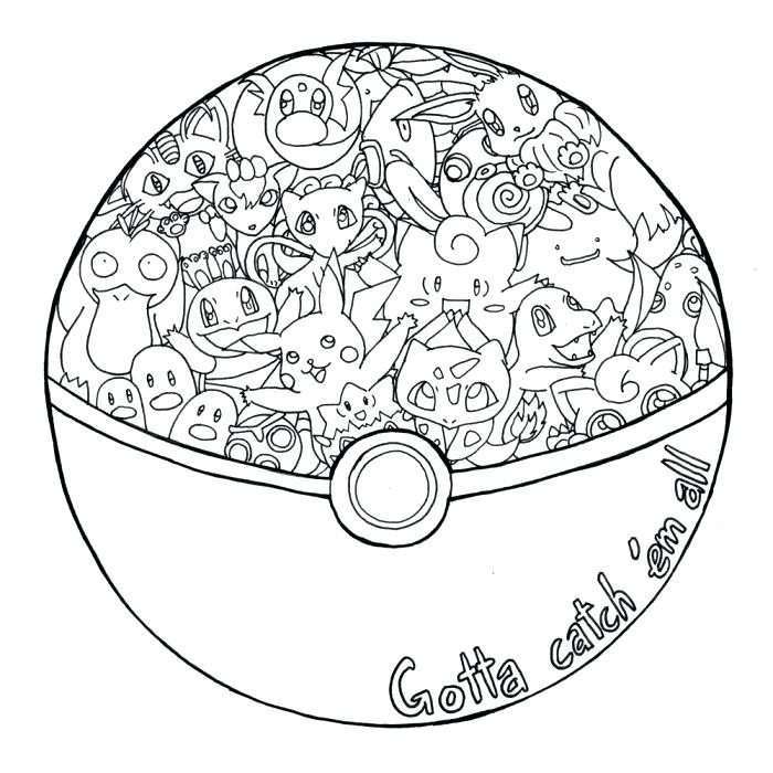 pokemon pokeball coloring pages at getdrawings free