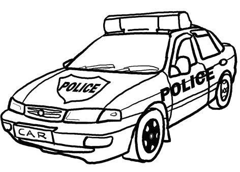 police car coloring pages cars coloring pages car colors