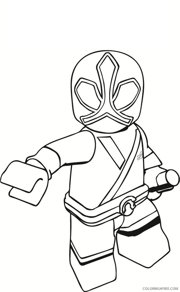 power ranger coloring pages lego coloring4free