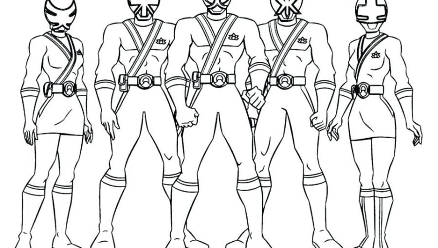 power rangers coloring pages at getdrawings free for