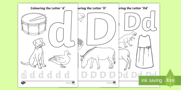 precursive letter d coloring pages teacher made