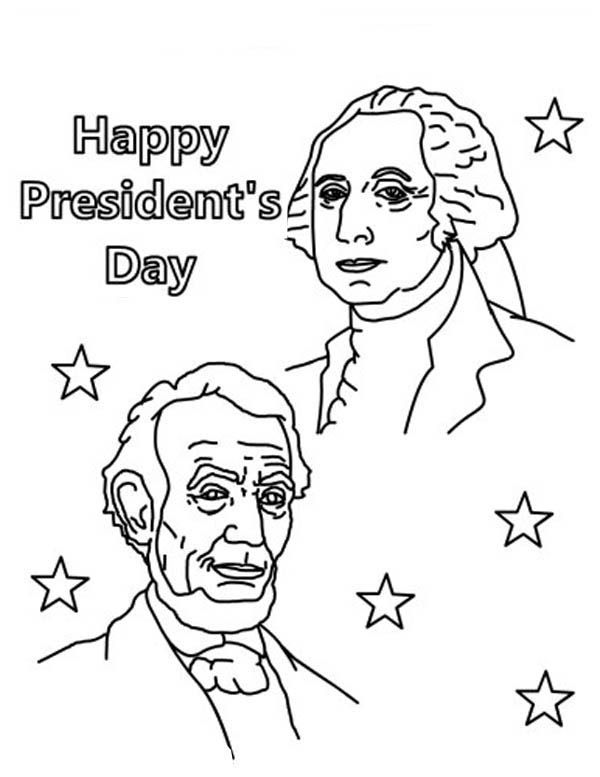 presidents day coloring pages happy presidents day