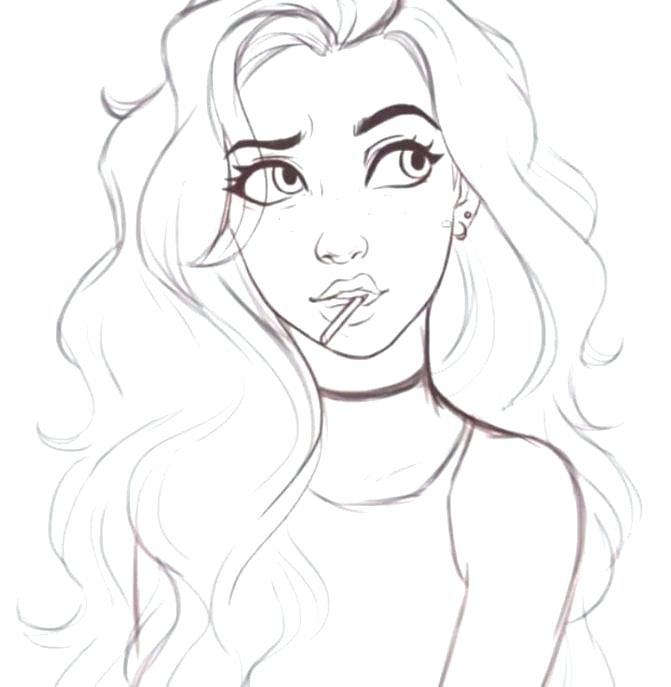 pretty coloring pages for girls at getdrawings free