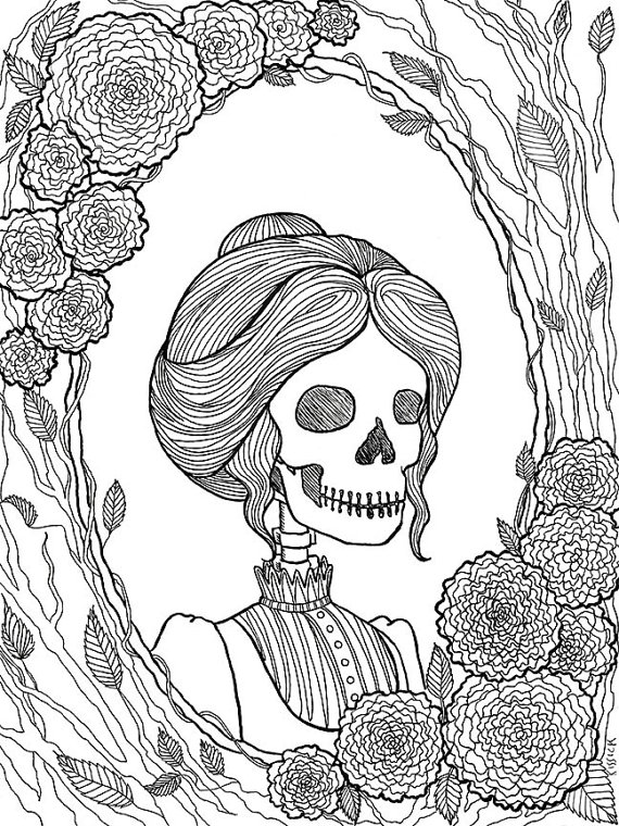 - Scary Coloring Pages Picture - Whitesbelfast