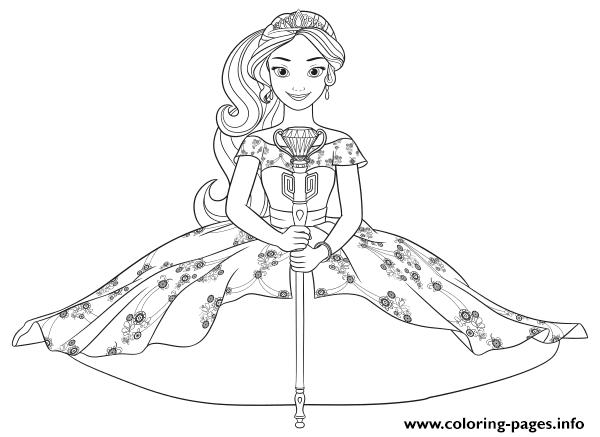 princess elena disney princess coloring pages printable