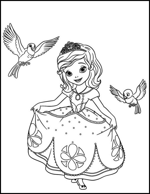 princess sofia coloring pages for android apk download