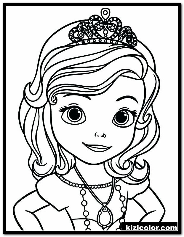 Sofia The First Coloring Pages Gallery - Whitesbelfast