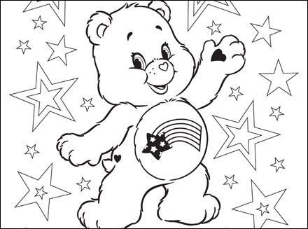 printable care bear coloring page best of gallery care bears