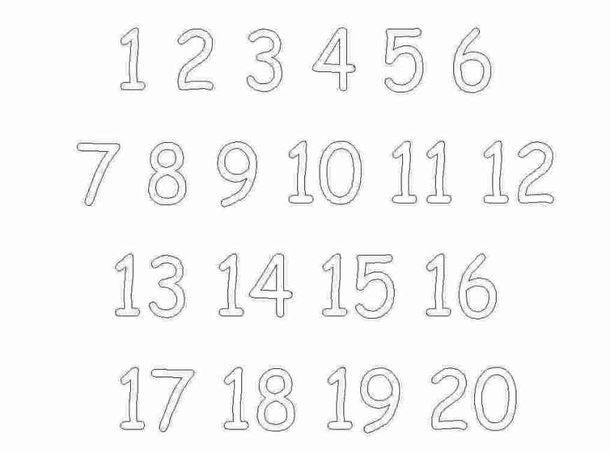 printable coloring number pages huangfei