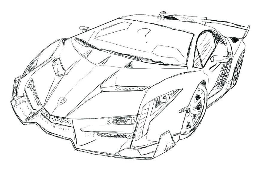 printable coloring pages lamborghini pusat hobi