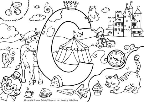 printable coloring pages letters pusat hobi