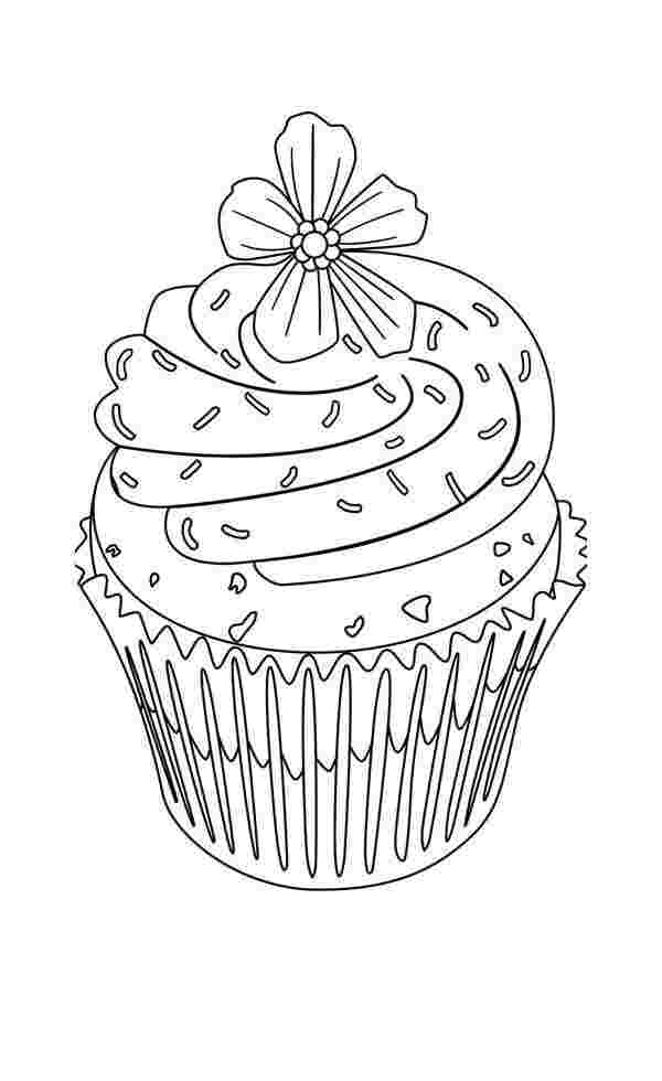 printable coloring pages of cupcakes cupcake coloring pages