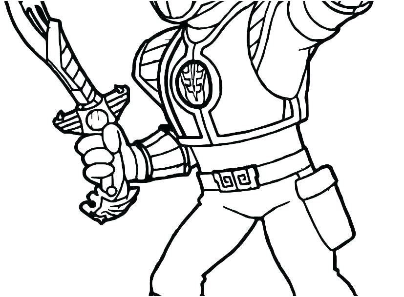 printable coloring pages power rangers pusat hobi