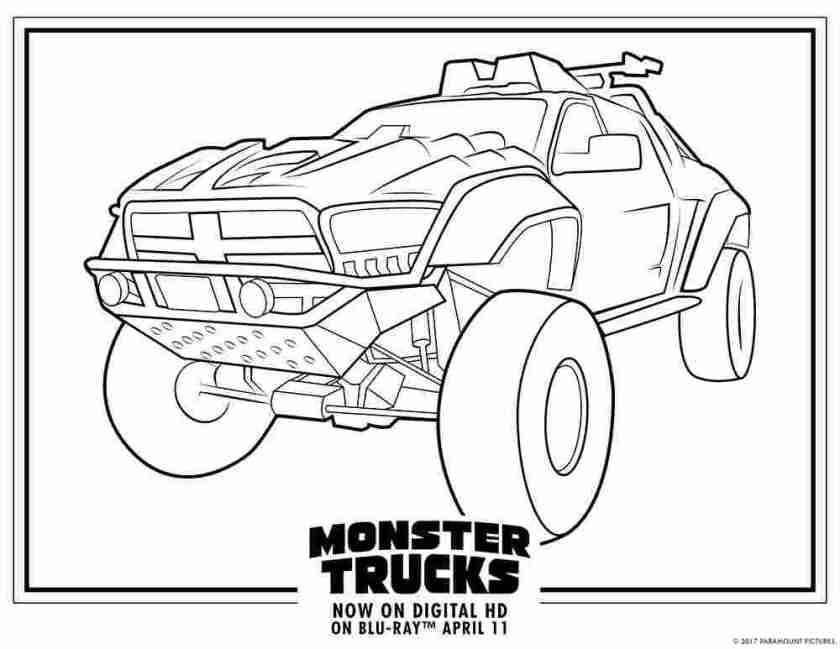 printable coloring sheets trucks semi truck coloring pages
