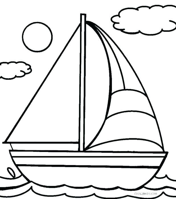 printable colouring pages boats coloring cruise ship page