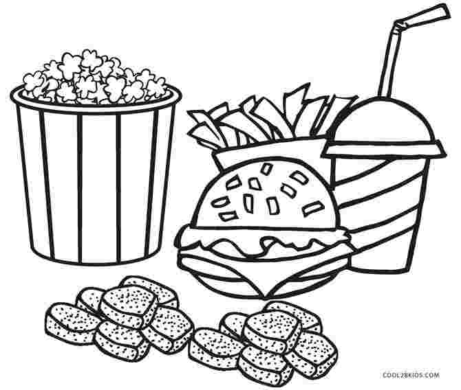 printable colouring pages food free printable food coloring