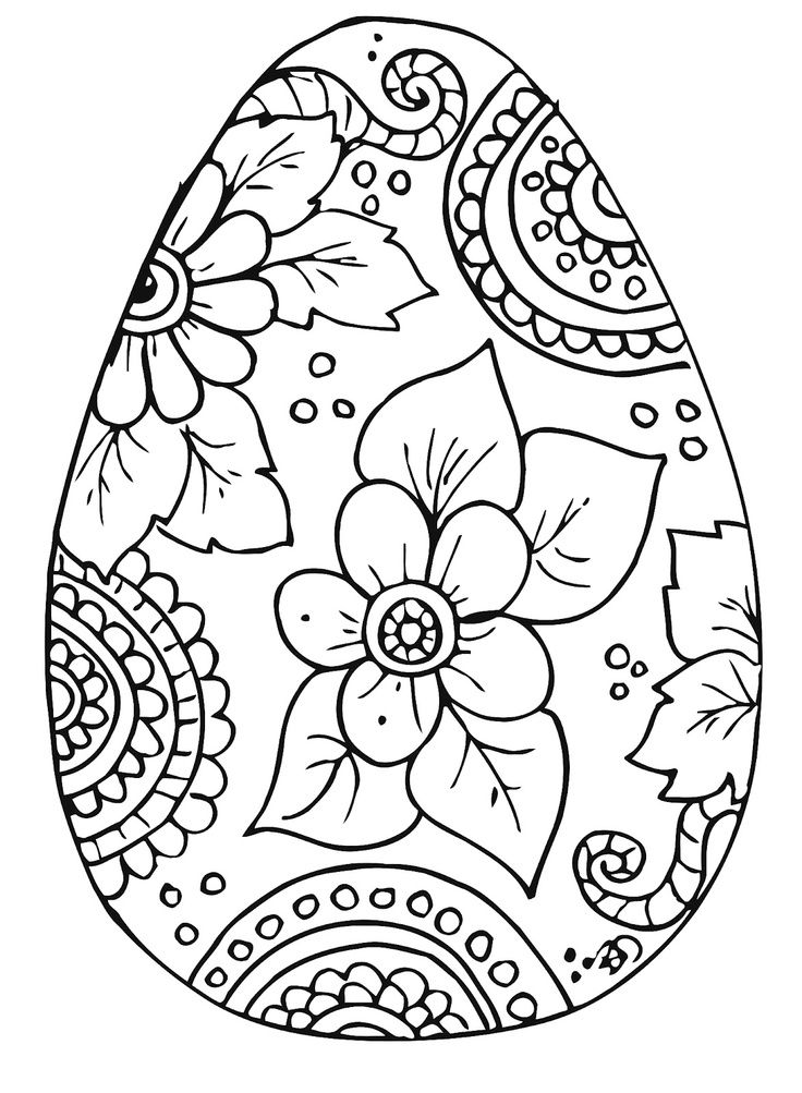 printable easter egg coloring page pesquisa google