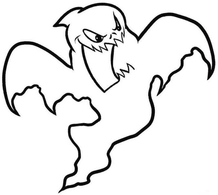 printable ghost coloring pages for kids witch coloring