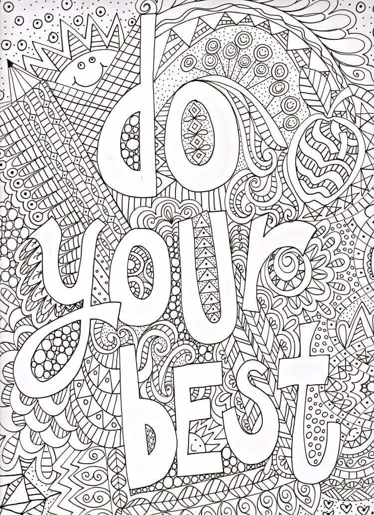 printable growth mindset coloring pictures free school