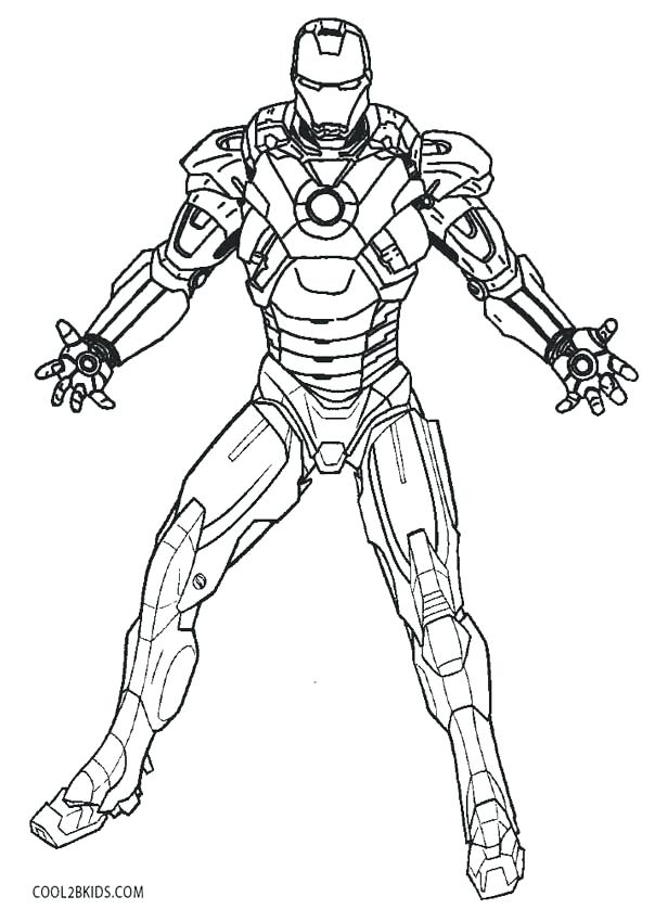 printable ironman coloring pages sheets colouring