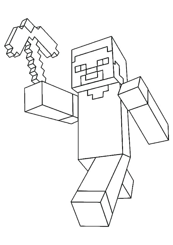 - Coloring Pages Minecraft Gallery - Whitesbelfast