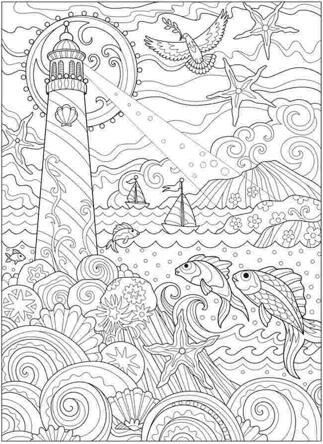 printable ocean coloring books free under the sea coloring