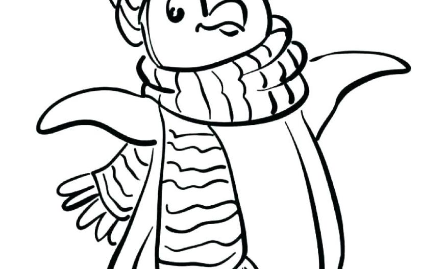 printable penguin coloring pages asrahousing