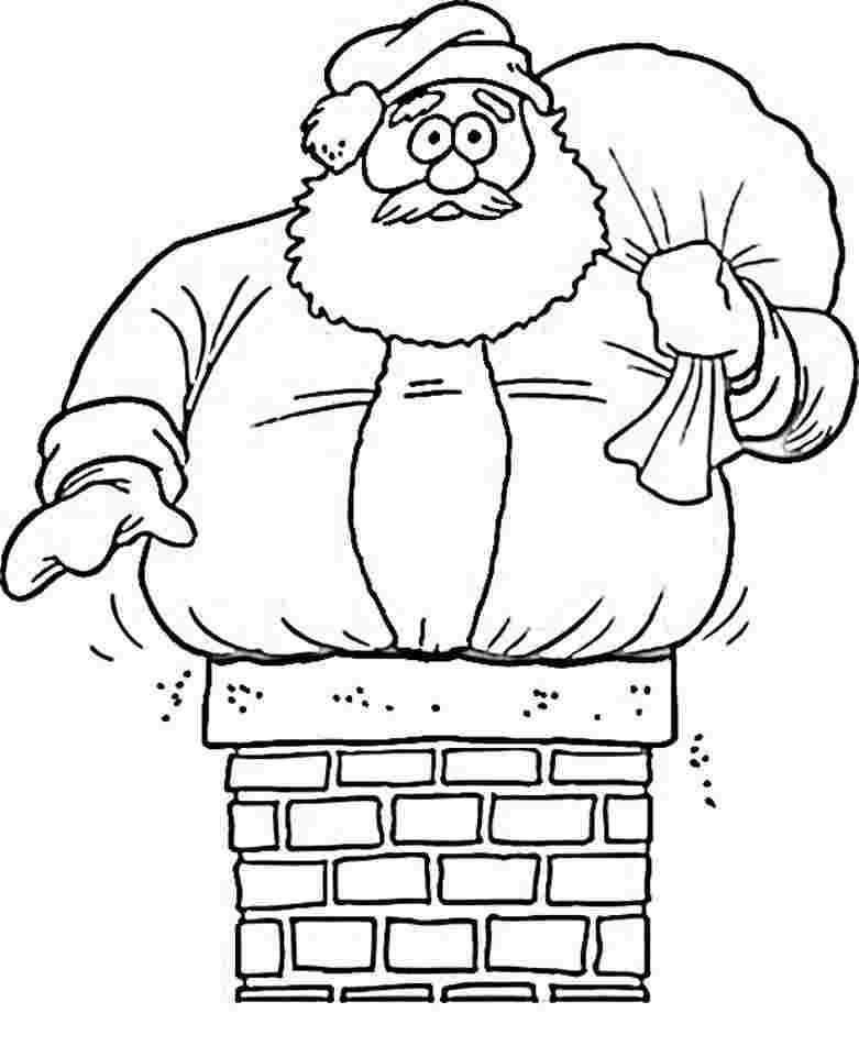 printable santa colouring pages free printable santa