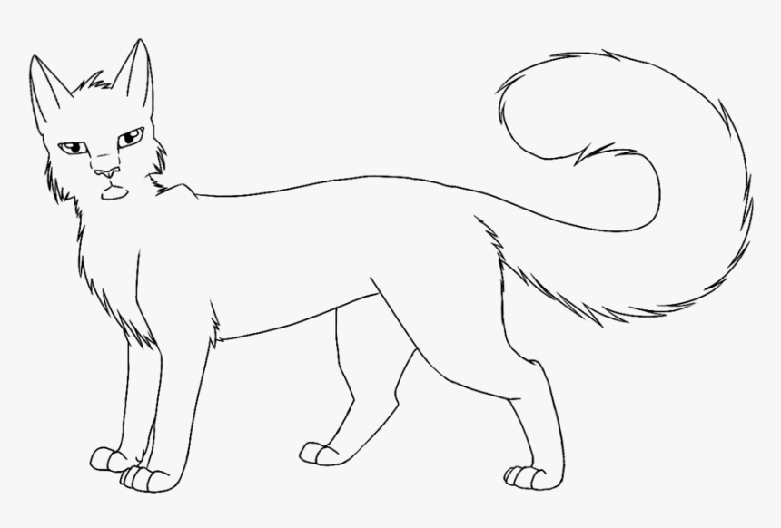 printable warrior cat coloring pages hd png download kindpng