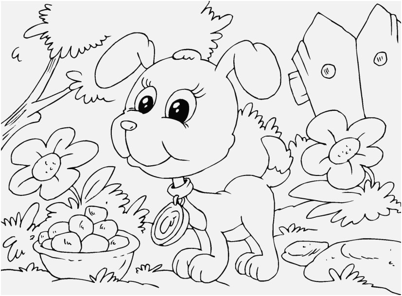 puppy coloring pages photographs cute puppy colouring pages