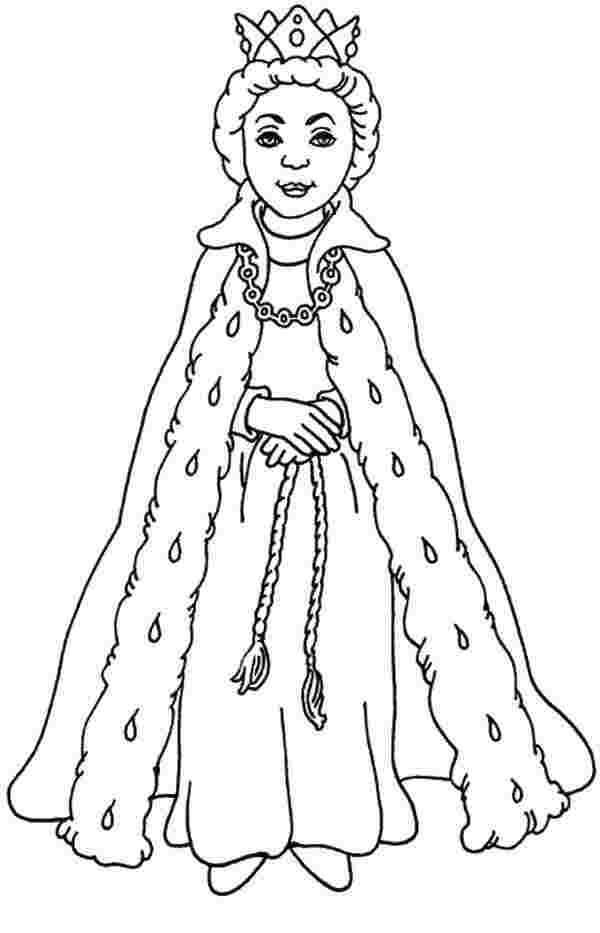 queen printable coloring page huangfei