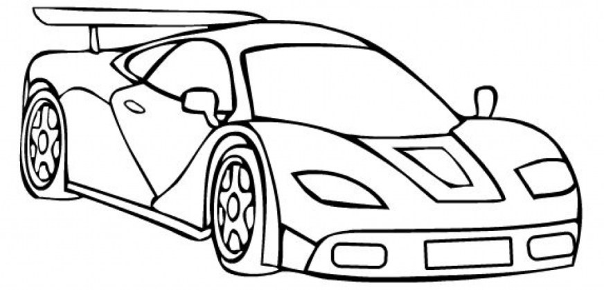 race car free coloring pages