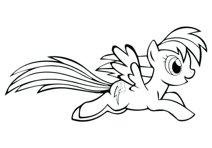 rainbow dash coloring pictures schoogle