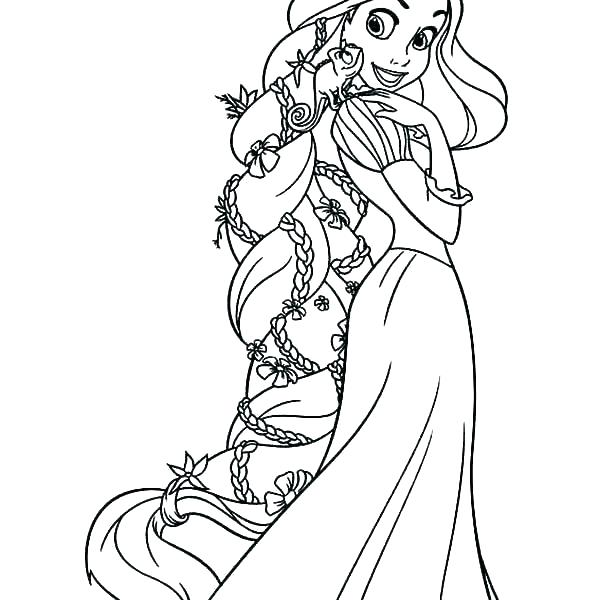 rapunzel color pages coloring online sheets aquaboxpro