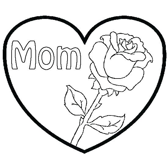 real heart coloring pages at getdrawings free for
