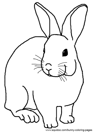 realistic rabbit coloring pages zeichnungen hase