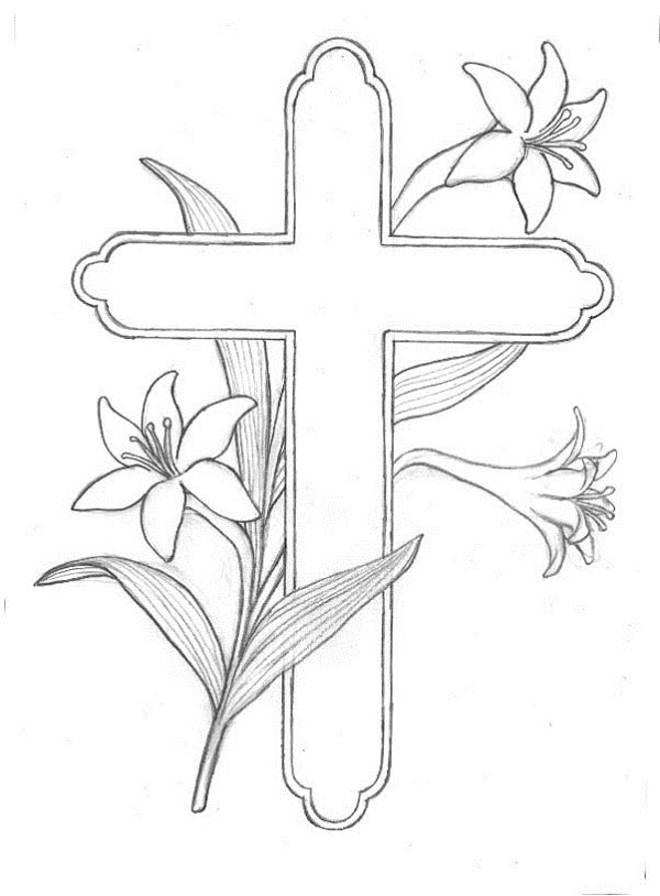religious easter coloring pages free coloring kids clip