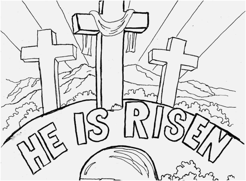 religious printable coloring pages picture free easter