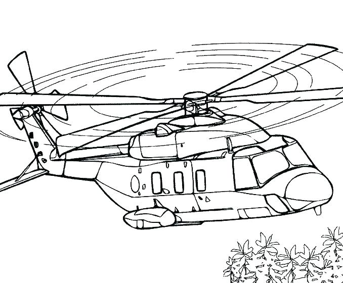 Helicopter Coloring Pages Pictures - Whitesbelfast