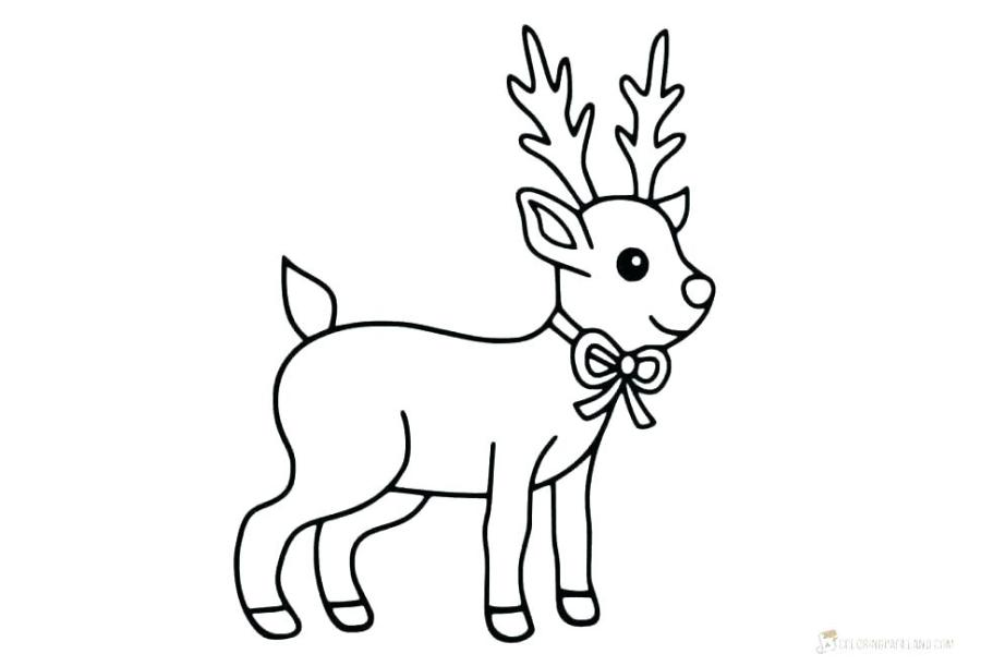 rudolph coloring pages to print pusat hobi