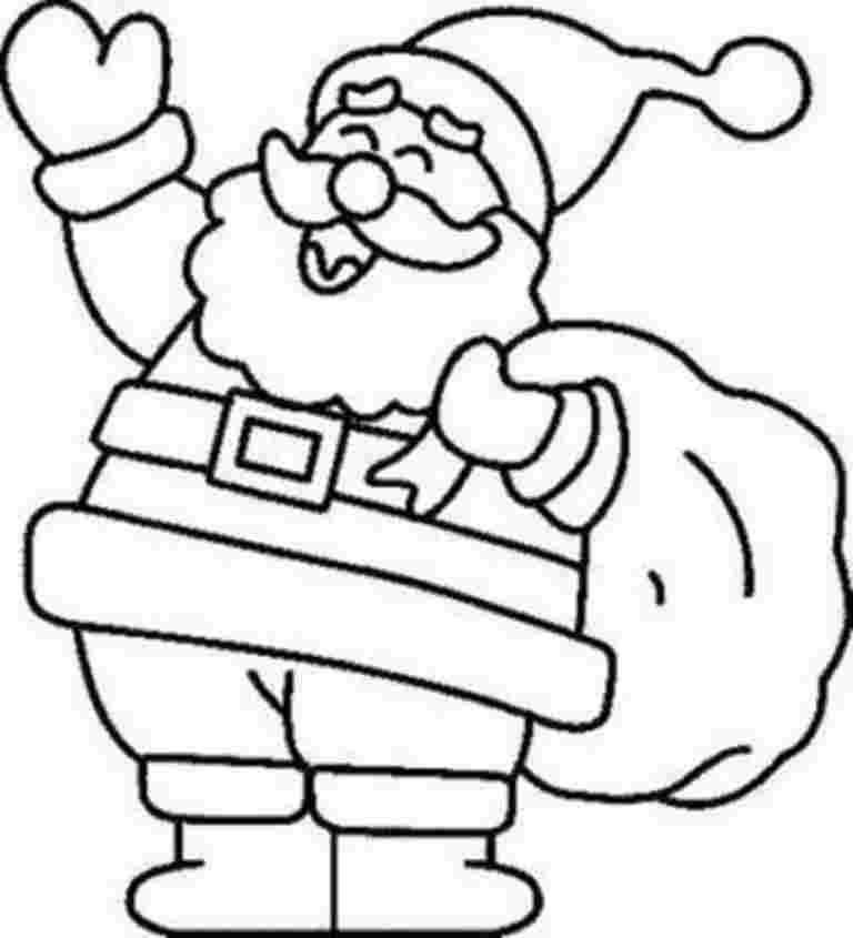 santa coloring sheets free free printable santa claus