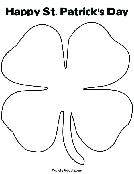 shamrock color page free sheet coloring pages shamrocks