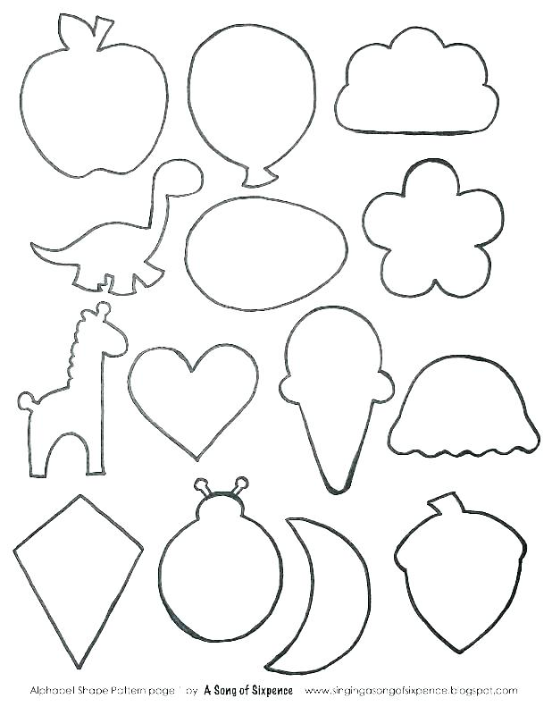 shape color pages zuocuclub