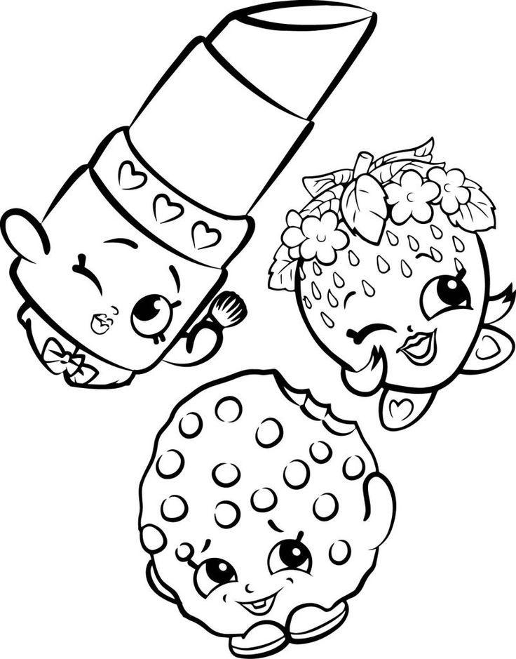 shopkins coloring pages malvorlagen fr kinder