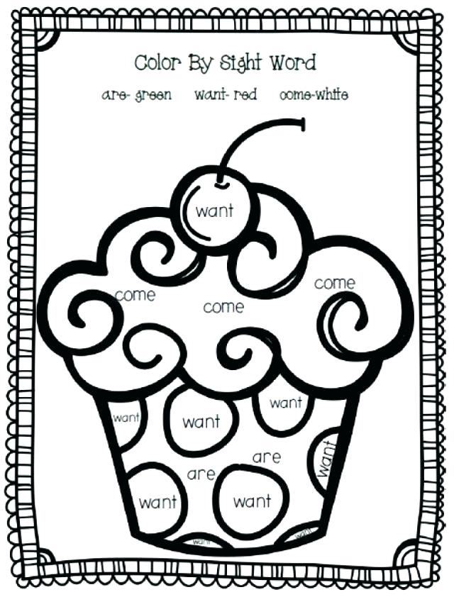 sight word coloring hidden worksheets words page colouring