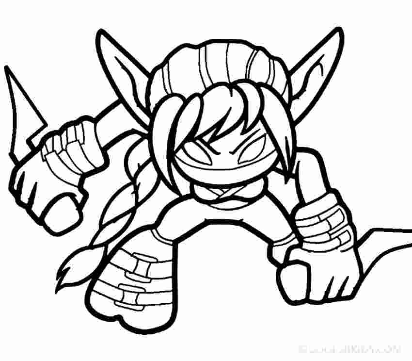 skylander giants coloring pages skylander giant coloring