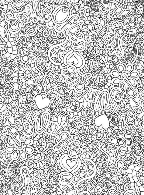 smile often be unique free printable adult coloring pages